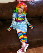 Rainbow Dash Equestria Doll Homemade Costume