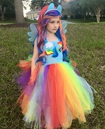 Rainbow Dash Equestria Girl Homemade Costume
