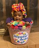 Rainbow Dippin' Dots Costume