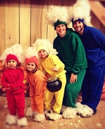 Family costume ideas - Rainbow Family Costume