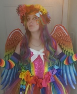 Rainbow of Love Homemade Costume