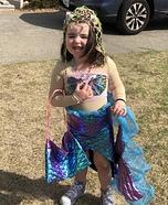Rainbow Princess Mermaid Homemade Costume
