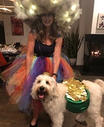 Rainbow Storm with the Pot of Gold Homemade Costume