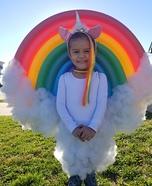 Rainbow Unicorn Homemade Costume