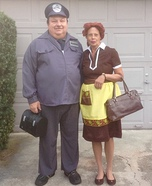 Ralph and Alice Kramden Homemade Costume