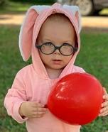 Ralphie Baby Homemade Costume