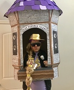 Rap-punzel Homemade Costume