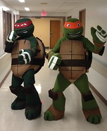 Raph & Mikey Homemade Costume