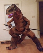 Raptor Suit Homemade Costume