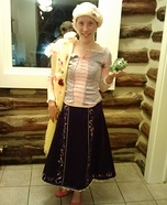 Homemade Rapunzel Costume for Women