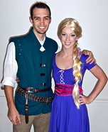 Couples Halloween costume idea: Rapunzel and Flynn Rider Costume