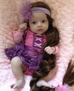Rapunzel Baby Costume