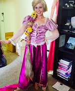 Rapunzel from Tangled Homemade Costume
