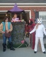 Rapunzel's Tower Homemade Costume