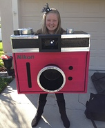 Working Photo Camera Costume