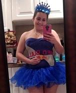 Red Bull Princess Homemade Costume
