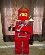 Red Ninjago Homemade Costume