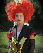 DIY Red Queen Costume for Girls