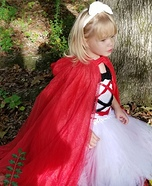 Red Riding Hood Homemade Costume
