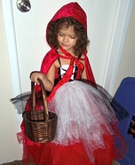 Red Riding Hood and her Big Bad Wolf Costume