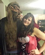 Red Riding Hood and the Big Bad Wolf Costume