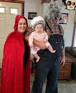 Red Riding Hood Family Homemade Costume