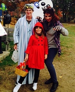 Red Riding Hood, Granny and the Wolf Homemade Costume
