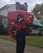 Red Transformer Homemade Costume
