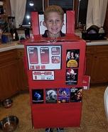 Redbox Kid Homemade Costume