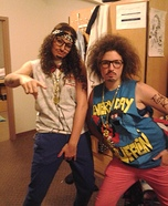 Redfoo and SkyBlu from LMFAO Costume