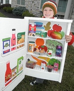 DIY Refrigerator Costume