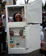 Refrigerator Homemade Costume