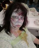 Regan from Exorcist Homemade Costume