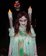 Regan from The Exorcist Homemade Halloween Costume