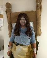Regan from The Exorcist Homemade Costume