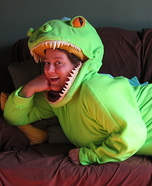 Homemade Reptar Costume