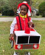 Rescue Pup Fire Brigade Homemade Costume