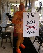 Revenge of the Chicken Homemade Costume
