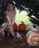 Rey & BB8 Homemade Costume