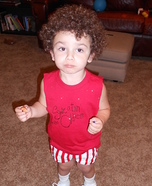 Richard Simmons Baby Costume