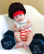 Richard Simmons Homemade Costume