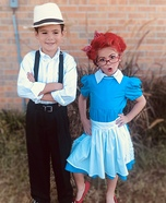 Ricky Ricardo and Lucille Ball Homemade Costume