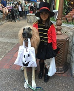 Ringmaster and Lion Homemade Costume