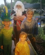 Rise of the Guardians Family Homemade Costume