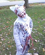 Road Kill Cat Costume