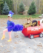 Wile E. Coyote and The Road Runner Kids Costume