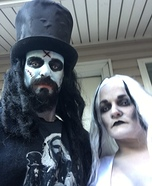 Rob Zombie and the Living Dead Girl Homemade Costume