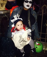 Robber and Bag of Cash Mom and Baby Costume