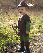 Cutest Halloween costumes for babies - Robin Hood Costume