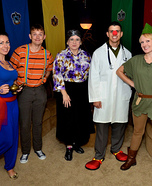 Robin Williams Movie Roles Group Costume